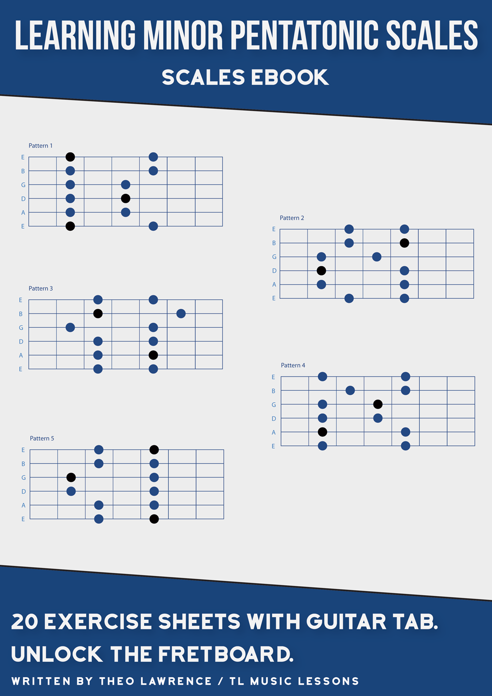 (PREMIUM) – Learning Minor Pentatonic Scales – PDF Ebook