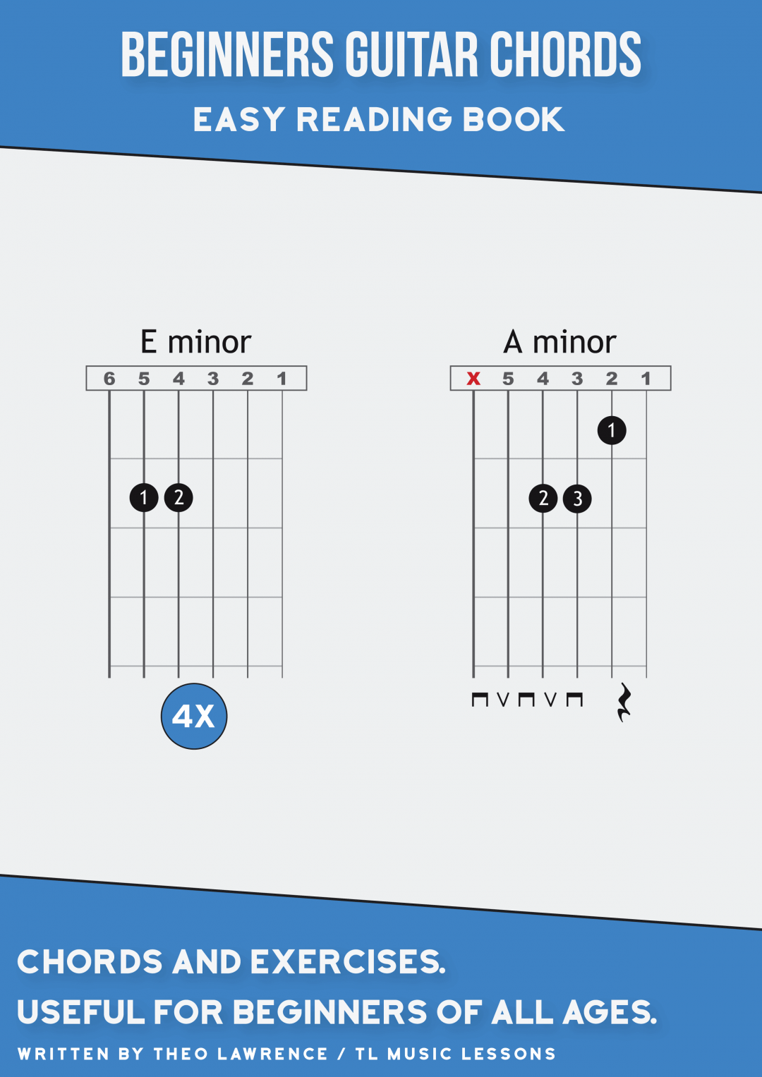 Beginners Guitar Chords – Easy Reading Book