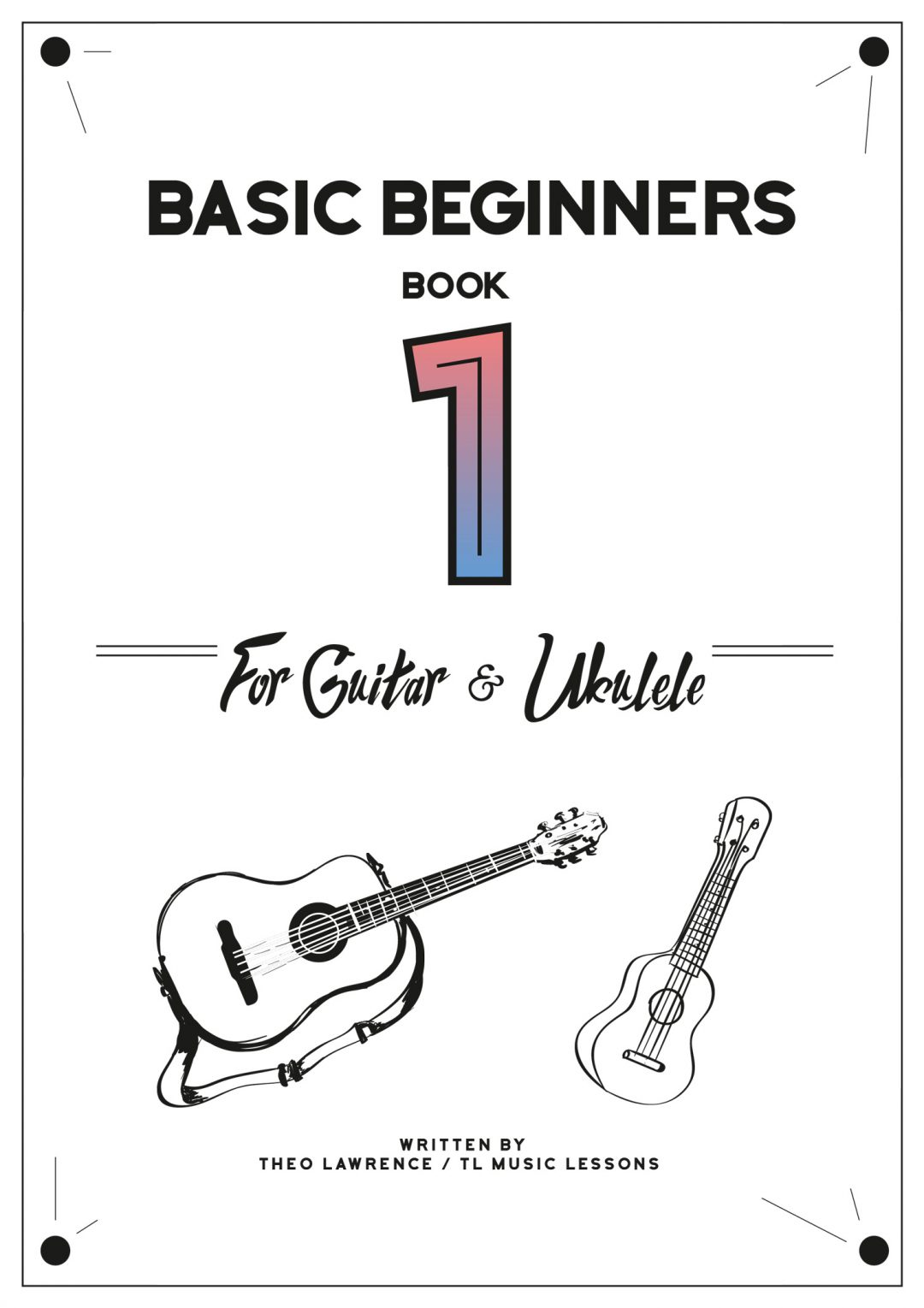 (PREMIUM) – Guitar & Ukulele Basic Beginners Book 1