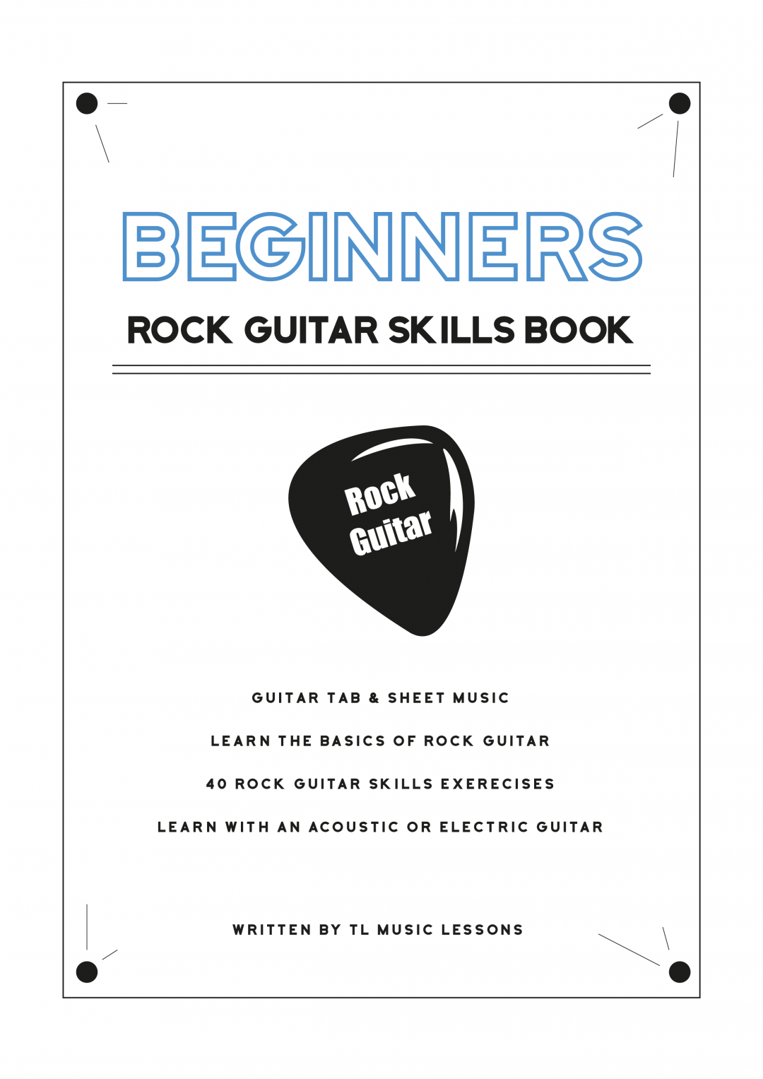 Beginners Rock Guitar Skills Book